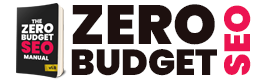 zero budget seo button
